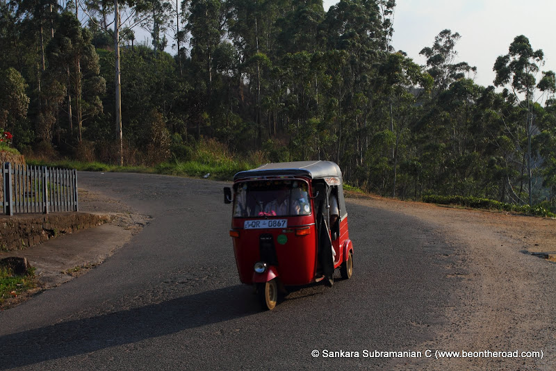 The famous Tuk Tuk of Sri Lanka