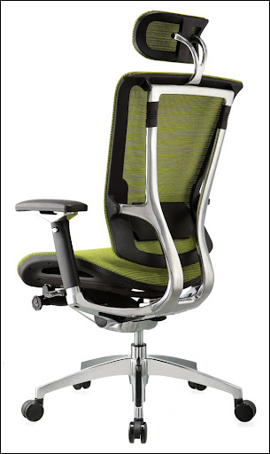 ergohuman mesh office chair steel frame