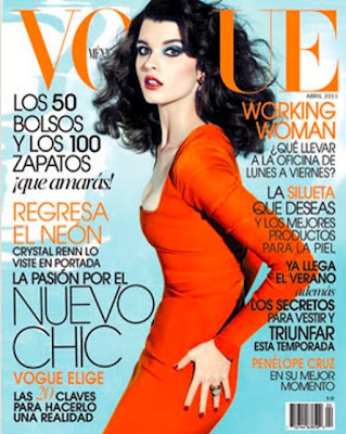 Vogue - Mexico -Abril 2011- Modelo:Crystal Renn- Fotógrafo: David Roemer