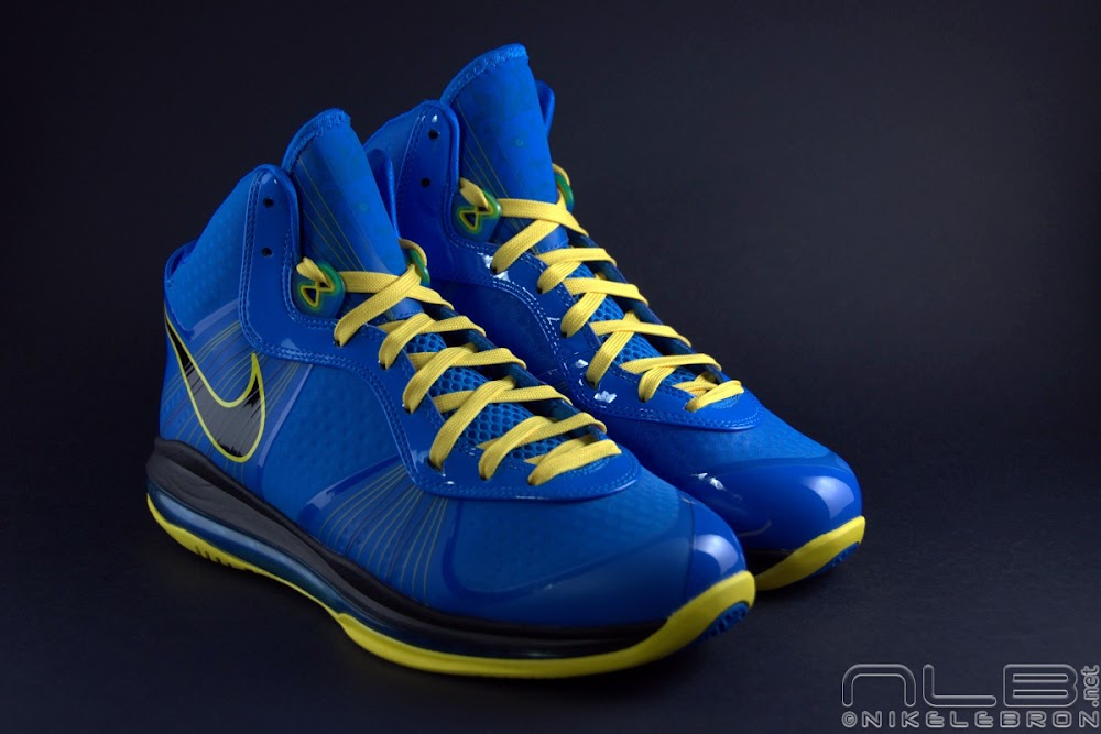 timeless design 95e26 1a7dd ... The Showcase Nike LeBron 8 V2 Entourage Including 2 Lace Swaps ...