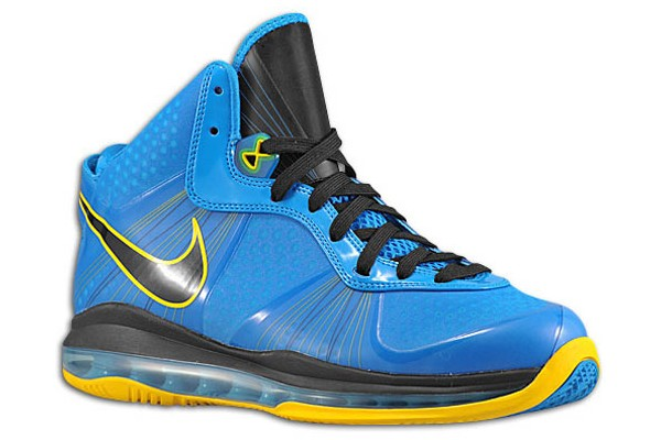 brand new 49a4b 8e758 Nike LeBron 8 V2 Photo BlueYellow aka 8220Entourage8221 Sample Pic