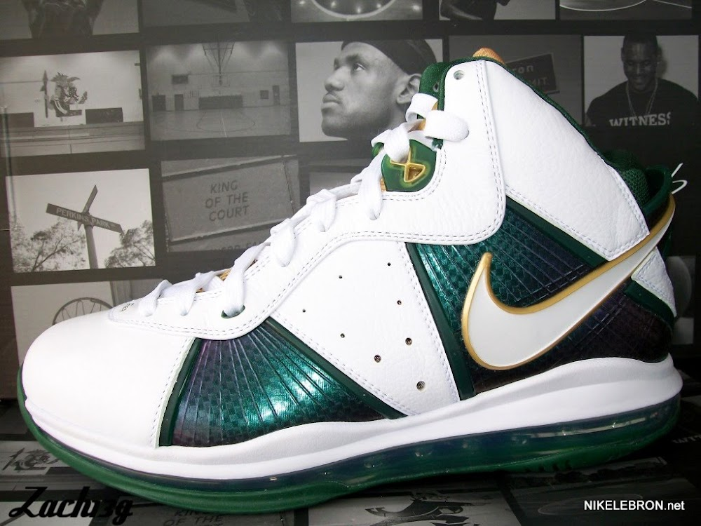 4ce99c510ef20 Nike LeBron 8 V1 SVSM Home Player Exclusive New Images ...