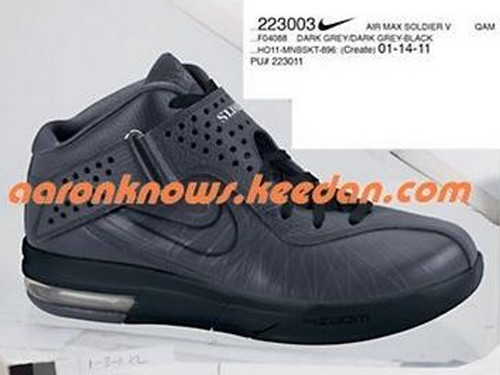 Nike Air Max Soldier V 5 8211 Upcoming Holiday 2011 Colorways