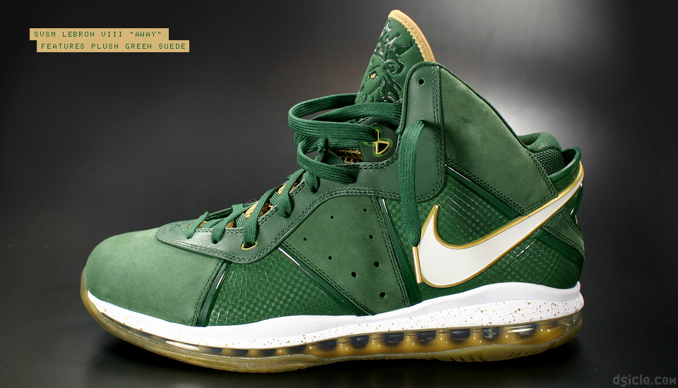 9009c44fbc70a PE Spotlight Nike LeBron 8 V1 SVSM Home and Away PEs .