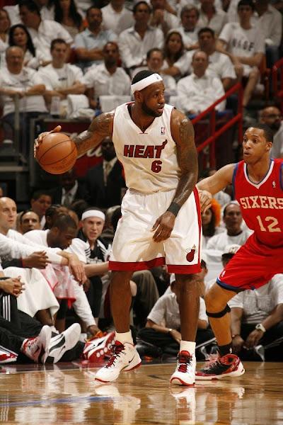 LeBron James and Miami Heat Dominate Game Two Take 20 Series Lead