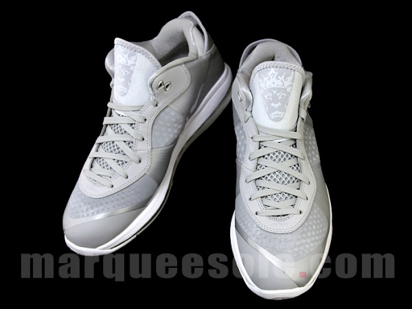 Fresh Nike LeBron 8 V2 Low in New Metallic Silver Style
