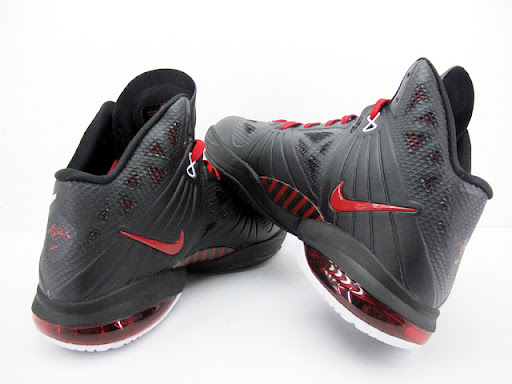 lebron 8 ps away. nike lebron 8 ps black red
