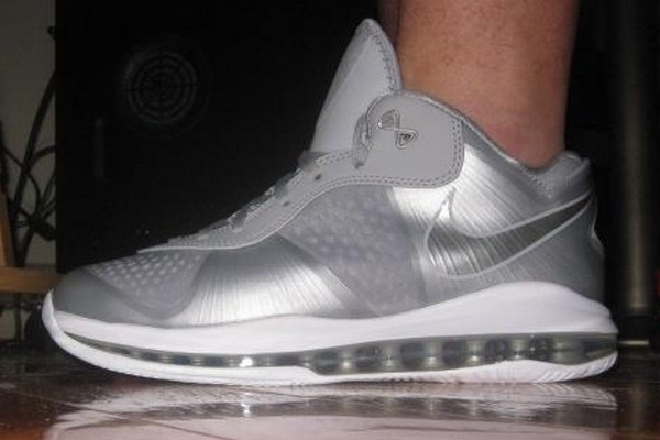 lebron 8 low. lebron 8 v2 low wolf greymetallic silver actual photo lebron