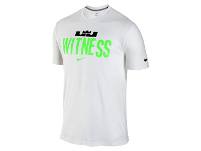 news lebron witness tee glow 3 Get your New Witness Gear with New Logo and Glow in the Dark