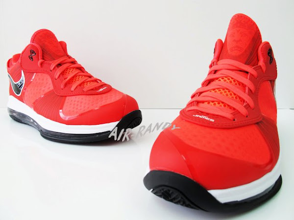 New Photos of LeBron 8 V2 Low 8220Solar Red8221 Possible August Drop