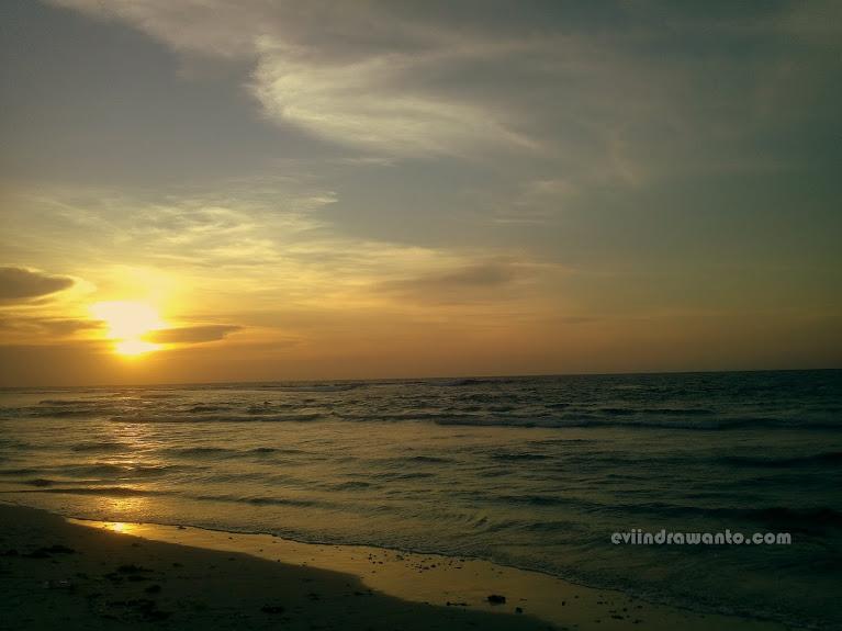 Sunset Pantai Tanjung Setia
