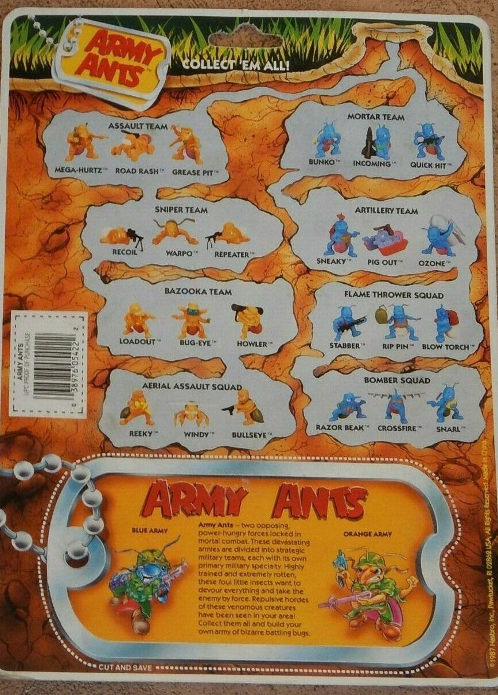 The Master List : Army Ants | ToyInformer.com
