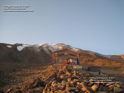 Damavand Camp3 Bargah Seveom New Hut