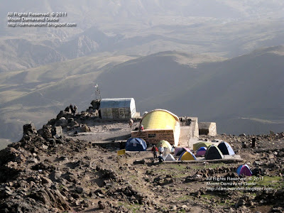 Damavand camp3 Bargah Sevom refuge