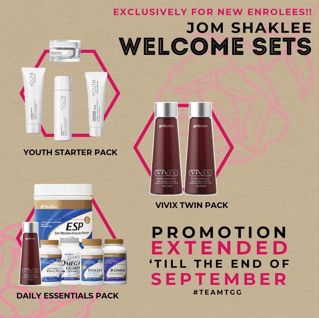 new member offer - shaklee promo for you- shaklee taman melati-mama una