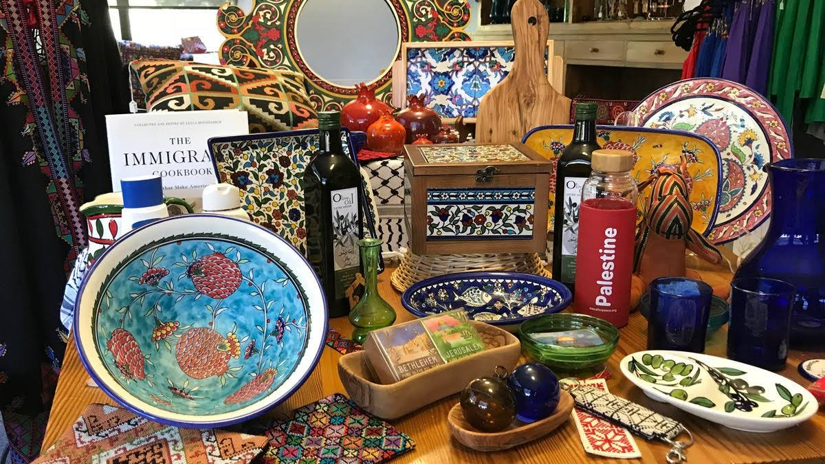 2018 Palestinian Holiday Crafts Bazaar at North Berkeley