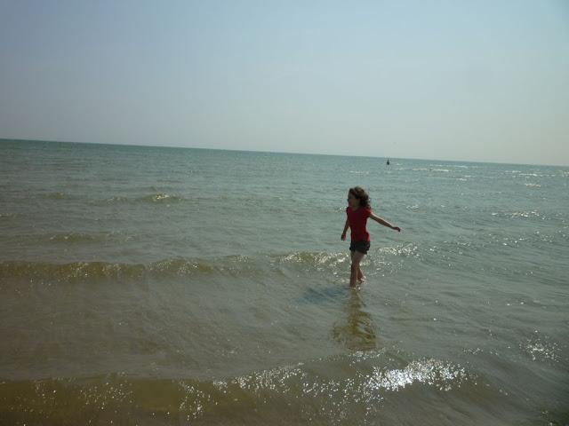 Люшка в море