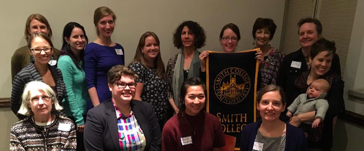Alumnae at the 2015 Smith College Club of Philadelphia Faculty Talk
