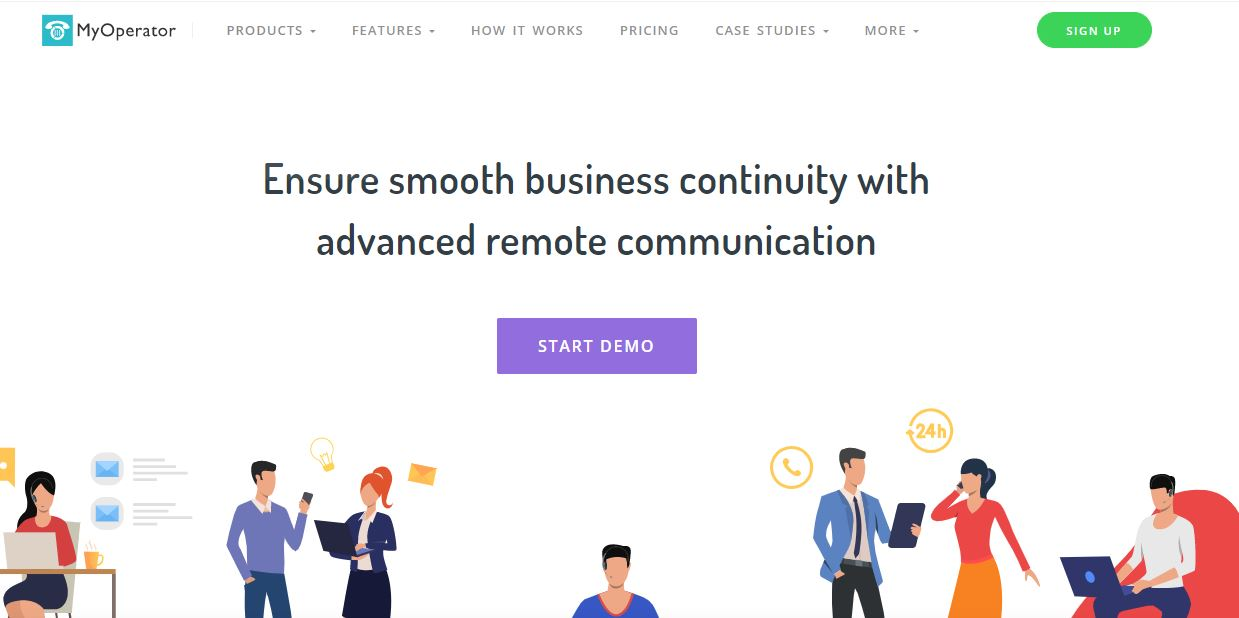 MyOperator is a Virtual Business Phone Solutions