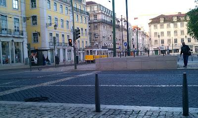 tramwaj w Lizbonie