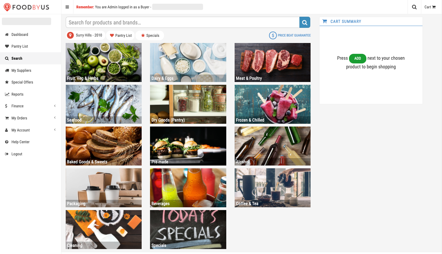 FoodByUs_choose_a_category_to_start_shopping