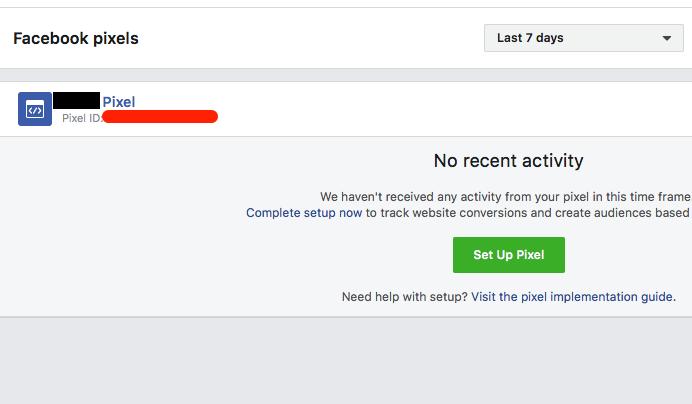 Facebook pixel ID location