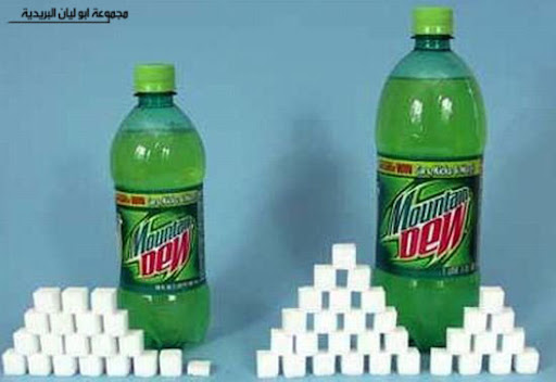 السكر غذائك