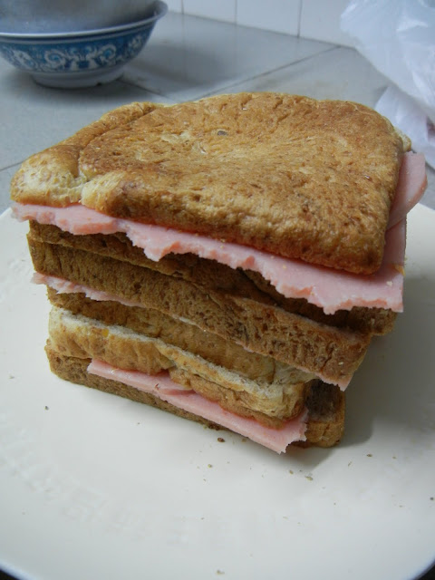 Wild Rocket Ham Sandwich