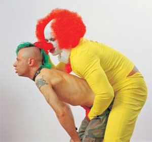 human animal clown sex