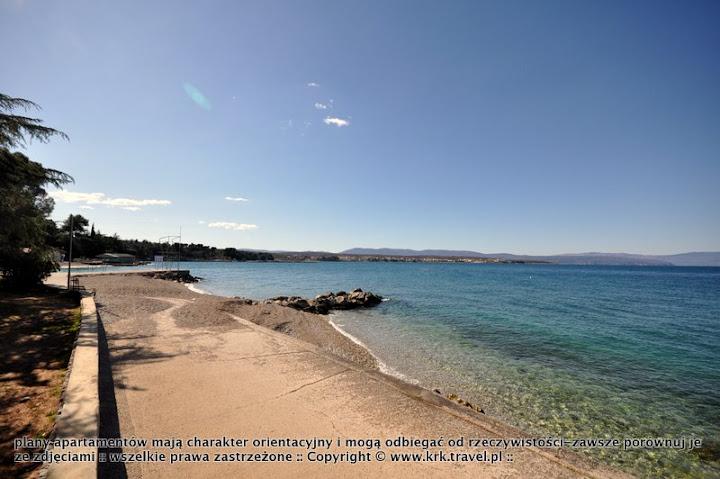 krk-malinska plaze Chorwacja