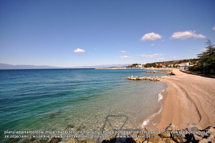 malinska najlepsze plaze Chorwacji