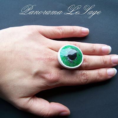 barwyoczu.pl soczewki kolorowe szkła kontaktowe inspiracja biżuteria Panorama LeSage seria