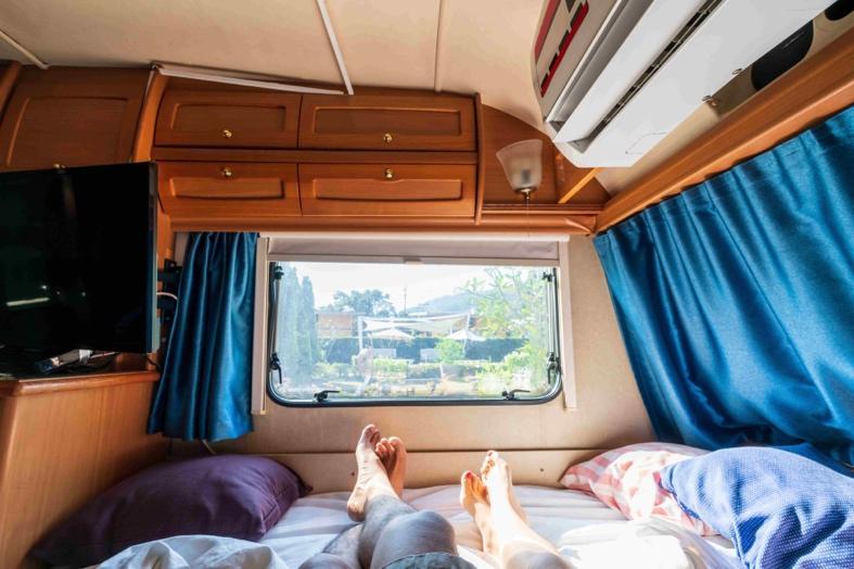 選擇美國露營車旅行就完全不用擔心住宿的問題