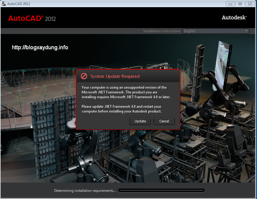 Hướng dẫn cài đặt và Active AutoCAD 2012 Full bằng hình ảnh
