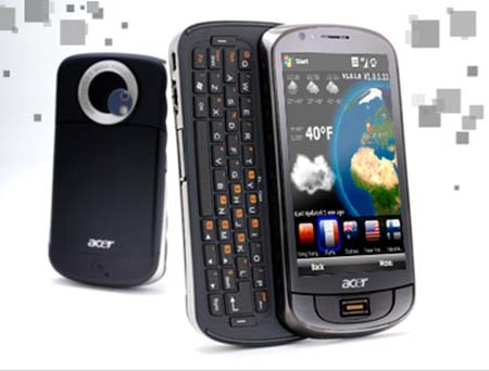Upcoming Acer Phone 2011 – Acer Phone With WP7