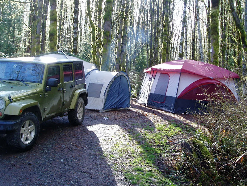 Roots brand cabin tent that I got at Costco for cheap. & Tents - what do you fellas have? - Page 3 - JKowners.com : Jeep ...