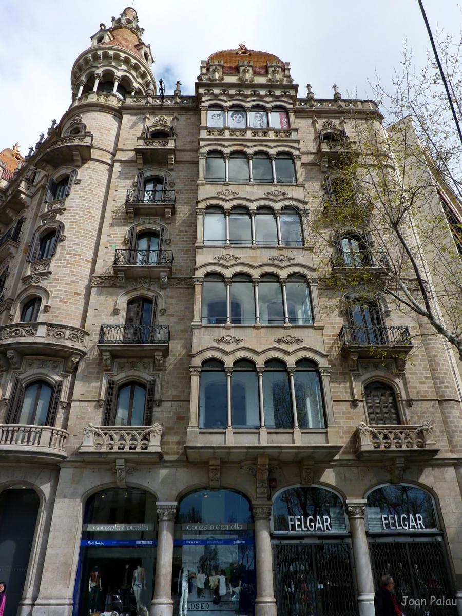 Casas rocamora barcelona modernista i singular - Calle casp barcelona ...