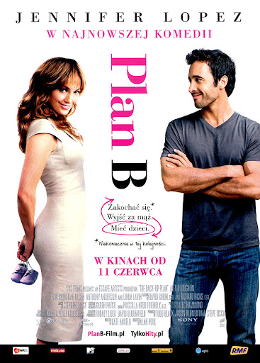 Przód ulotki filmu 'Plan B'