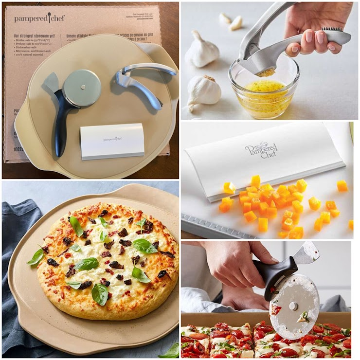 Wow Stephanie Hunter, Mortgage Agent of Mortgage Man-Dominion Lending Centres sure knows how to party! Check out this incredible pizza party pack she's donated from Pampered Chef! It includes a Large Pizza Stone, Garlic Press, Handy Scraper and Pizza Slicer with Crust Cutter 🍕 Are you drooling just looking at it?! For more info on these items please visit www.pamperedchef.ca