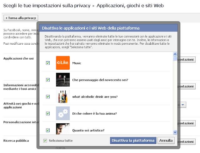 Come bloccare le richieste dei giochi su Facebook