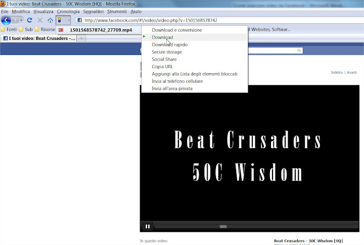 Come scaricare i video da Facebook