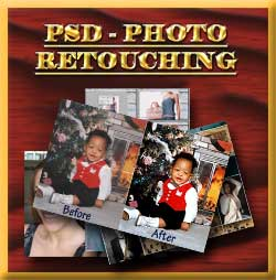 PSD Photo Retouching