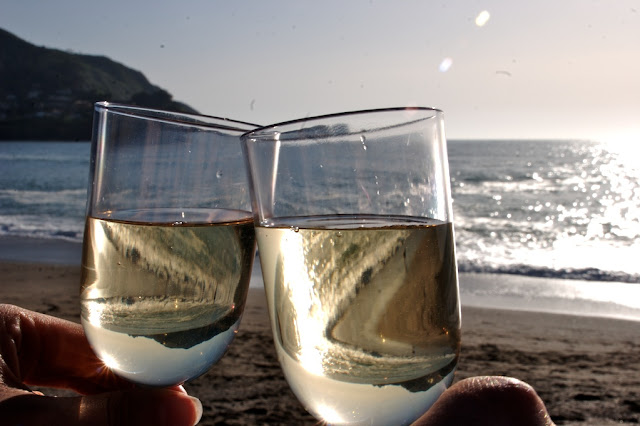 White Wine Pacifica State Beach