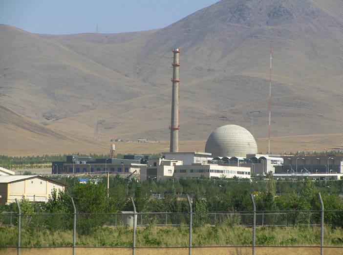 Атомная станция в Араке