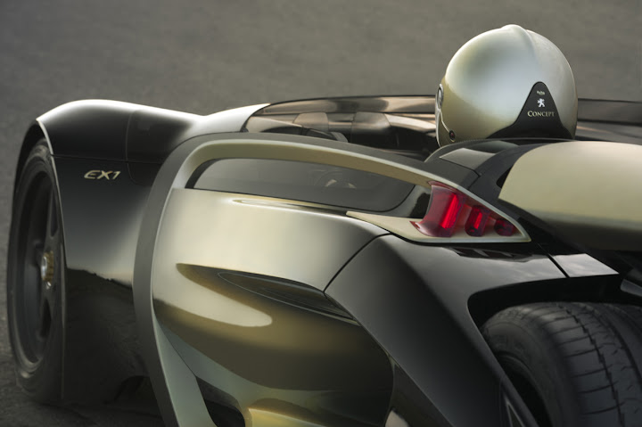 Peugeot EX1 electric concept car