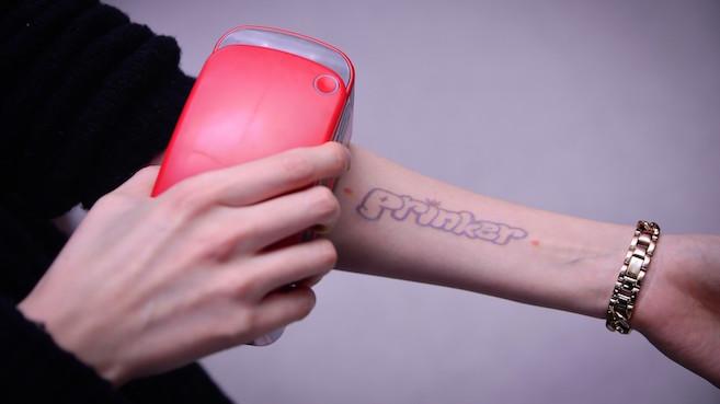 Resultado de imagen de impresora de tatuajes