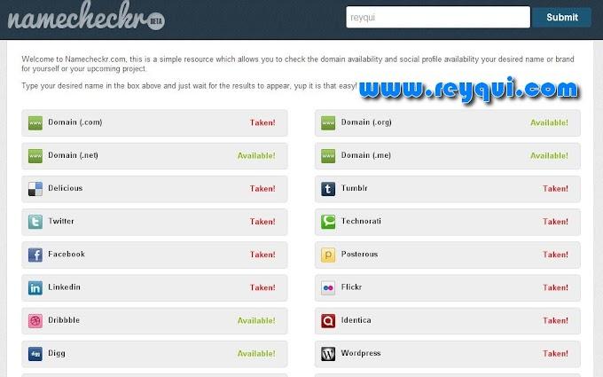 Verifica si el nombre que quieres en la web está disponible en las redes sociales