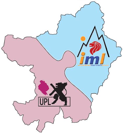Logo coalición UPL-IML para la comarca de Cistierna