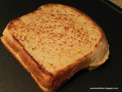 Wheat Buttermilk Bread Grilled Cheese