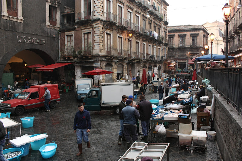 Piata de peste din Catania